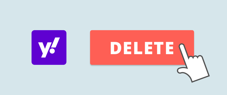 Delete yahoo account banner